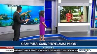 Kisah Yusri Sang Penyelamat Penyu
