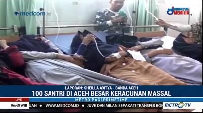 100 Santri di Aceh Besar Keracunan Usai Sarapan