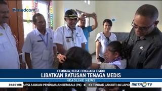 Dinkes Lembata Gelar Imunisasi Campak dan Rubella