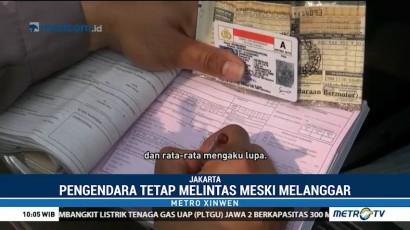 Pelanggar Ganjil Genap Ditilang Rp500 Ribu