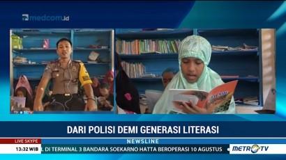 Dari Polisi Demi Generasi Literasi