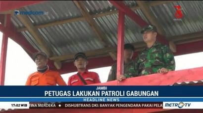 Petugas Gabungan Patroli untuk Cegah Kebakaran Lahan