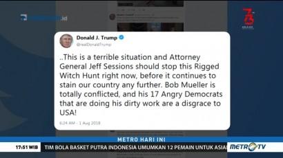 Trump Minta Investigasi Kasus Pemilu AS Dihentikan