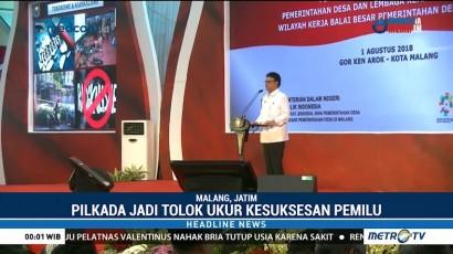 Mendagri Imbau Seluruh Kepala Daerah Sukseskan Tahapan Pemilu 2019
