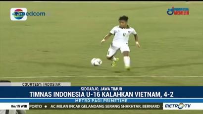 Kalahkan Vietnam, Timnas Indonesia U-16 Kukuh di Puncak Grup A