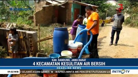 4 Kecamatan di Kabupaten Bandung Kesulitan Air Bersih