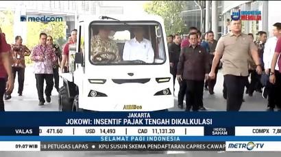 Jokowi Kaji Insentif Pajak untuk Mobil Listrik