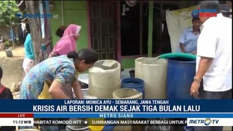Warga Demak Kesulitan Air Bersih Sejak Tiga Bulan Lalu