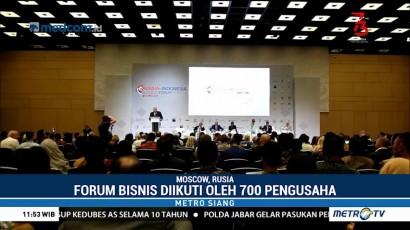 700 Pengusaha Ikuti Forum Bisnis Indonesia-Rusia