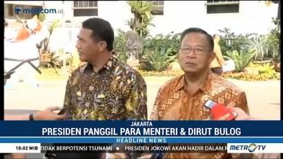 Jokowi Panggil Tiga Menteri Bahas Kenaikan Harga Beras