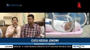 Kenalan dengan Sedah Mirah Nasution, Cucu Kedua Presiden Jokowi