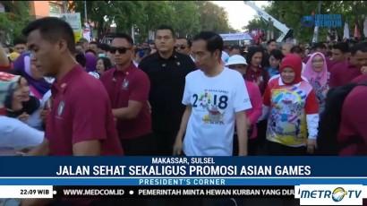 Jokowi Gencar Lakukan Promosi Jelang Asian Games