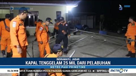 Tim SAR Cari 13 ABK Hilang di Perairan Indramayu