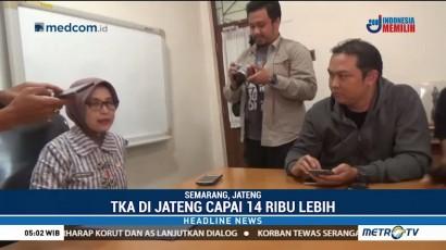 Belasan Ribu TKA Masuki Jateng di Triwulan Pertama 2018