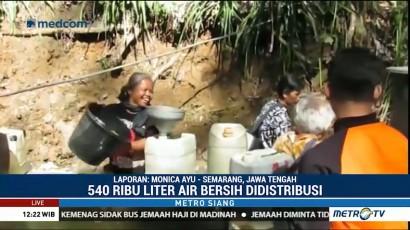 Warga Magelang Antre Berhari-hari Dapatkan Air Bersih