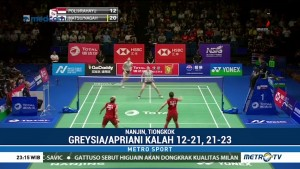 Greysia/Apriyani Gagal Melaju ke Semifinal Kejuaraan Dunia