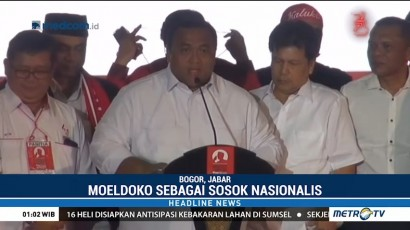 Relawan Buruh Dukung Moeldoko Jadi Cawapres Jokowi
