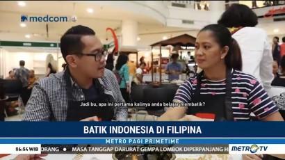 Warga Filipina Belajar Membatik