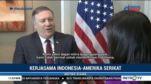 AS Tak Ingin Mendominasi Kerja Sama Perdagangan dengan Indonesia