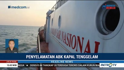 13 ABK Hilang di Perairan Indramayu Berhasil Diselamatkan