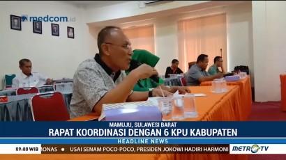 KPU Sulbar Teliti Berkas Bacaleg