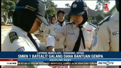 Siswa di Jawa Tengah Galang Dana untuk Korban Gempa Lombok