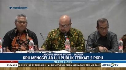 KPU Gelar Uji Publik Rancangan PKPU untuk Pemilu 2019
