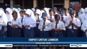 Ratusan Siswa Gelar Doa Bersama untuk Korban Gempa Lombok