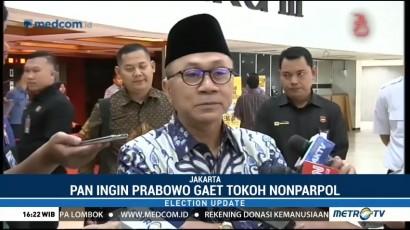 PAN Ingin Prabowo Gaet Tokoh Nonparpol