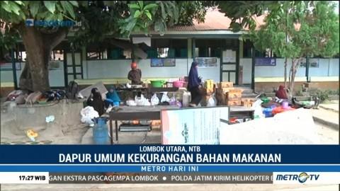 Dapur Umum di Kecamatan Pamenang Kekurangan Bahan Makanan