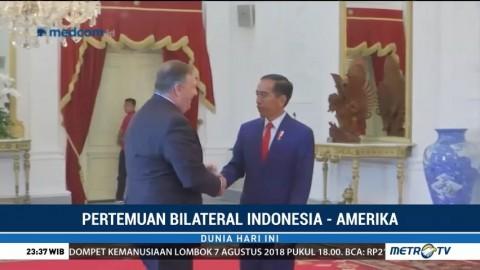 Presiden Jokowi Terima Kunjungan Menlu AS