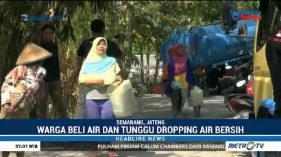 Kekeringan, Warga Semarang Terpaksa Membeli Air Bersih