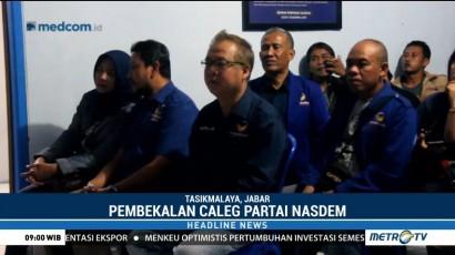 Pembekalan Bacaleg Partai NasDem di Jawa Barat