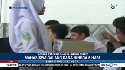 Pelajar di Medan Galang Dana untuk Korban Gempa Lombok