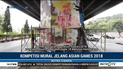 Kompetisi Mural Jelang Asian Games 2018