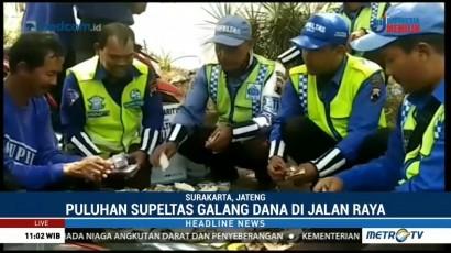 Puluhan Supeltas Galang Dana untuk Korban Gempa Lombok