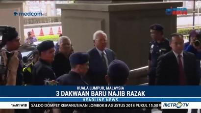 Najib Razak Dijerat Tiga Dakwaan Baru
