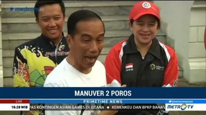 Ditanya Cawapres Berinisial M, Ini Reaksi Jokowi