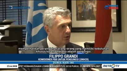 Wawancara Eksklusif Filippo Grandi Soal Pengungsi
