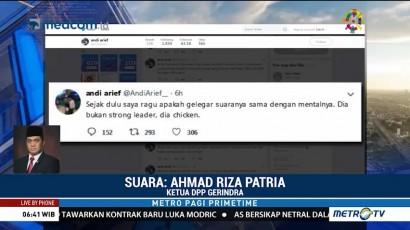 Gerindra Sesalkan Pernyataan Andi Arief