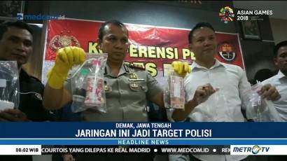 Polisi Ringkus Pengedar Narkoba di Jawa Tengah