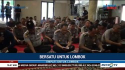 Ratusan Polisi di Jambi Gelar Salat Gaib dan Galang Dana untuk Korban Gempa