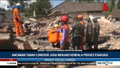 Pascagempa Lombok, Ini Kendala Proses Evakuasi