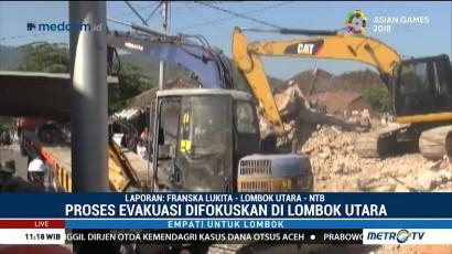 Proses Evakuasi Warga Lombok Utara Terus Dilakukan
