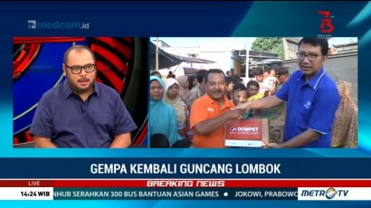 Media Group Berterima Kasih atas Donasi Masyarakat untuk Lombok