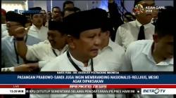 Prabowo Tiba di KPU