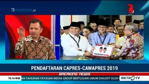 Prabowo-Sandi Curi Start Lempar Isu Politik