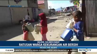 Warga Majene Krisis Air Bersih