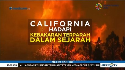 Data dan Fakta Kebakaran California