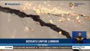 Kerusakan Infrastruktur di Lombok Hambat Distribusi Bantuan